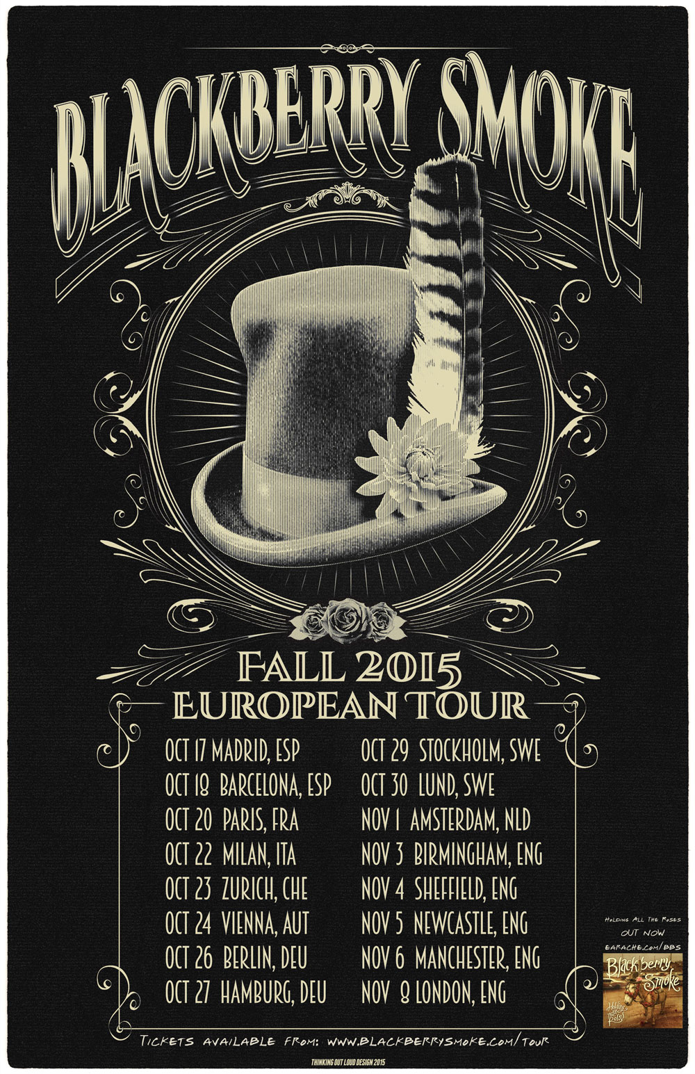 Blackberry Smoke European tour 2015