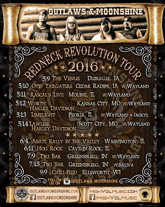 Redneck revolution tour 2016