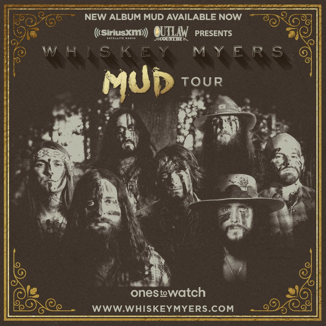 Whiskey Myers Mud Tour 2017