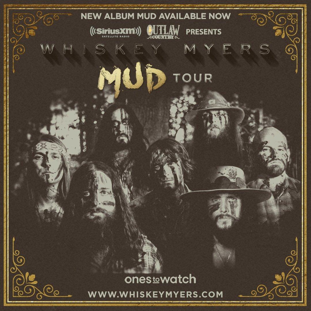 Whiskey Myers Mud Tour 2017